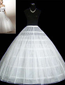 cheap Wedding Slips-Wedding Special Occasion Party / Evening Slips Tulle Floor-length Ball Gown Slip Classic & Timeless with
