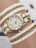 cheap Bracelet Watches-yoonheel Women's Bracelet Watch Hot Sale Leather Band Bohemian / Fashion Black / White / Brown