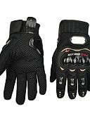 preiswerte Herren Unterwäsche & Socken-Motorrad-Handschuhe Vollfinger Polyurethan/Baumwolle/Nylon/ABS M/L/XL Rot/Schwarz/Blau