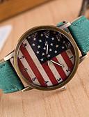 ieftine Ceasuri La Modă-Pentru femei femei Ceas de Mână Quartz Piele PU Matlasată Negru Ceas Casual Analog Charm Modă - Verde Albastru Roz / Oțel inoxidabil