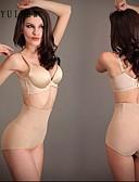 رخيصةأون كيلوتات-للمرأة كيلوتات الشكل نايلون سباندكس متشابك أسود البيج