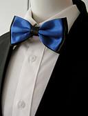baratos Gravatas e Gravatas Borboleta-Homens Festa Gravata Borboleta - Camadas / Básico Estampa Colorida
