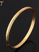preiswerte Krawatten & Fliegen-Damen Armreife - vergoldet Retro, Party, Büro Armbänder Gold / Silber Für Alltag