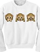 cheap Women's Hoodies & Sweatshirts-Women's Cute Cotton Sweatshirt - 3D Print