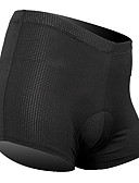 cheap Sport Watches-SANTIC Men's Cycling Under Shorts - Black Bike Padded Shorts / Chamois / Underwear Shorts, Breathable Silicon