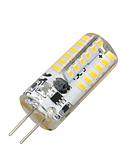 povoljno Muške košulje-1pc 2 W 100-200 lm G4 LED klipaste žarulje T 48 LED zrnca SMD 3014 Toplo bijelo 12 V / RoHs
