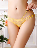 cheap Panties-Women's Ultra Sexy Panties Shorties & Boyshorts Panties - Lace, Jacquard Mid Waist