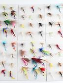 cheap Women's Bottoms-72 pcs Flies Fishing Lures Flies Metal Fly Fishing