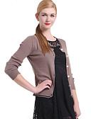 preiswerte Damen Pullover-Damen Klassisch Langarm Strickjacke - Solide, Klassisch