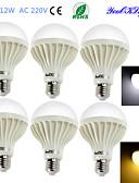 halpa Pusero-YouOKLight 900lm E26 / E27 LED-pallolamput B 18 LED-helmet SMD 5630 Koristeltu Lämmin valkoinen Kylmä valkoinen 220-240V