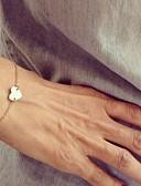 tanie Sukienki-Damskie Bransoletki z breloczkami - Serce, Miłość minimalistyczny styl, Moda Bransoletki Srebrny / Złota Na Prezenty bożonarodzeniowe Impreza Codzienny