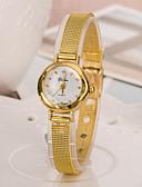cheap Fashion Watches-Women's Fashion Watch Japanese Casual Watch Alloy Band Elegant Gold