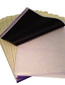ieftine Cortine duș-basekey 100 de coli de hârtie de transfer x matrita tatuaj de carbon termică urmărire kit a4