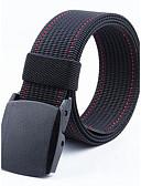 baratos Cintos de Moda-Homens Activo Básico Acrílico, Cinto para a Cintura Sólido
