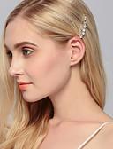 preiswerte Hochzeit Schals-Strass Haarklammer mit 1 Hochzeit / Besondere Anlässe / Normal Kopfschmuck