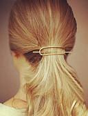 cheap Fashion Headpieces-Women's Simple Casual Alloy Hair Clip