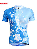halpa Miesten yläosat-TASDAN Naisten Lyhythihainen Pyöräily jersey Pyörä Jersey / Vaatesetit, Nopea kuivuminen, Ultraviolettisäteilyn kestävä, Hengittävä
