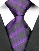 baratos Gravatas e Gravatas Borboleta-Homens Luxo Listras Fashion Criativo