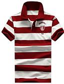 cheap Men's Polos-Men's Sports Active Cotton Polo - Striped Modern Style / Stylish Shirt Collar