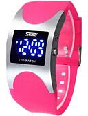 preiswerte Modische Uhren-Damen Sportuhr LED Silikon Band Luxus / Modisch Schwarz / Blau / Rose