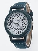 preiswerte Kleideruhr-Herrn Armbanduhr Armbanduhren für den Alltag / / PU Band Freizeit Schwarz / Grün / Grau