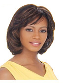 cheap Women's Scarves-Synthetic Wig Straight Synthetic Hair 10 inch Brown Wig Women's Medium Length Capless Brown hairjoy