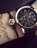 preiswerte Modische Uhren-Damen damas Armband-Uhr Quartz Schwarz / Weiß / Grün Armbanduhren für den Alltag Analog Charme Modisch - Schwarz Grün Rosa Ein Jahr Batterielebensdauer / KC 377A