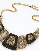 preiswerte Damen Kleider-Damen Perle Anhängerketten / Statement Ketten / Perlenkette - Perle Erklärung, Europäisch, Modisch Schwarz, Rot, Blau Modische Halsketten Für Party