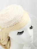 cheap Wedding Veils-Fabric Net Birdcage Veils 1 Wedding Special Occasion Headpiece