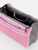 cheap Fashion Belts-Unisex Bags Nylon Cosmetic Bag Zipper Blue / Pink / Yellow