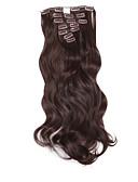 billige Overdele til damer-Bølget Klassisk Syntetisk hår 20 tommer (ca. 50cm) Hårpåsætning Clips på Dame Daglig