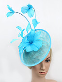 cheap Mother of the Bride Dresses-Tulle / Feather Fascinators with 1 Wedding / Special Occasion Headpiece