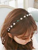 baratos Headpieces Femininos-Bandanas Acessórios de cabelo Pérola