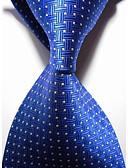 abordables Corbatas y Pajaritas para Hombre-Hombre Corbata - Fiesta / Trabajo / Básico Un Color