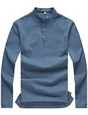 ieftine Hanorace Bărbați și Plover-Bărbați Mărime Plus Size Polo In Mată / Manșon Lung