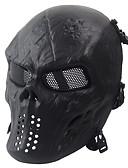 preiswerte Herrenhemden-schwarz taktische Schutzmaske Schädel Maske Armee Fans leben cs Feld wesentlich