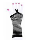 preiswerte Unterröcke für Hochzeitskleider-Tanz Accessoires Tanz-Handschuhe Damen Leistung Nylon / Elasthan Überkreuzte Rüschen Handschuhe / Aufführung