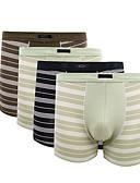 abordables Ropa Interior y Calcetines de Hombre-Hombre Short y Slip de Chico Patrón Cintura Media / Tiro Medio
