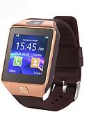 olcso Ruha óra-Intelligens Watch DZ09 mert Android Elégetett kalória / Hosszú készenléti idő / Kéz nélküli hívások / Érintőképernyő / Fényképezőgép Dugók & Töltők / Hívás emlékeztető / Testmozgásfigyelő / Alvás