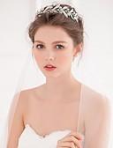 hesapli Gelinlikler-alaşım Çiçek  -  Tiaras Headbands Başlık Çelenkler Saç aracı 1pc Düğün Özel Anlar Günlük Başlık