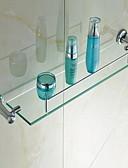 halpa Hääbolerot-Kylpyhuonehylly Nykyaikainen Kristalli Kromi