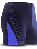זול בגדי ים לגברים-בגדי ריקוד גברים מכנסי שורט בגדי ים עמיד בכלור, נושם Chinlon / אלסטיין בגדי ים ביגוד חוף מכנסי גלישה טלאים שחייה / סטרצ'י (נמתח)