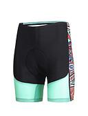 baratos Cintos de Moda-ILPALADINO Mulheres Bermudas Acolchoadas Para Ciclismo Moto Shorts / Calças Tapete 3D, Secagem Rápida, A Prova de Vento Moderno Lycra