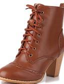 preiswerte Damen zweiteilige Anzüge-Damen Schuhe Kunststoff / Lackleder / Kunstleder Herbst / Winter Neuheit / Cowboystiefel / Westernstiefel / Schneestiefel Stiefel Walking