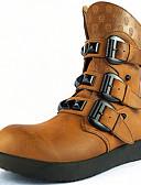 رخيصةأون ربطات العنق للرجال-للرجال أحذية Leather نابا ربيع صيف خريف شتاء كتب مشبك إلى فضفاض الأماكن المفتوحة بني