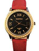preiswerte Modische Uhren-YAZOLE Damen Armbanduhr Schlussverkauf / Cool / / PU Band Freizeit / Modisch Schwarz / Blau / Silber