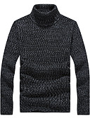 cheap Men's Sweaters & Cardigans-Men's Plus Size Sports / Work Long Sleeve Pullover - Solid Colored