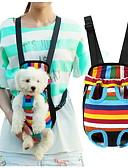 ieftine Pantaloni de Damă-Pisici Câine Portbagaje & rucsacuri de călătorie Rucsac din față Animale de Companie  Coșuri Dungi Portabil Respirabil Dungi Pentru
