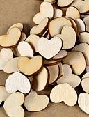 abordables Soportes para Regalo-Boda / Pedida / Enamorado / San Valentín / Fiesta de Boda Madera Material ecológico Decoraciones de la boda Tema Jardín / Tema Asiático /