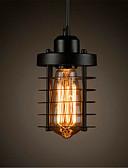 billige Brudepikekjoler-Sylinder Anheng Lys Omgivelseslys Malte Finishes Metall Mini Stil, LED, designere 110-120V / 220-240V Pære Inkludert / E26 / E27